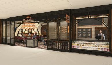 DFW Airport_Barrel Empire Storefront